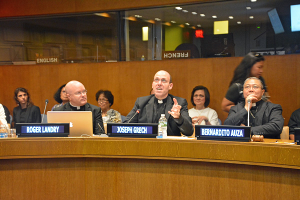 Holy See Mission holds Conference describing its work at the UN