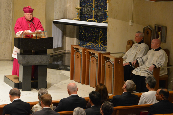 Archbishop Wenski Challenges UN Community Not to Be Indifferent to Refugees and Migrants