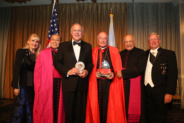 The Path to Peace Foundation Celebrates Silver Anniversary and Honors the Knights of Columbus