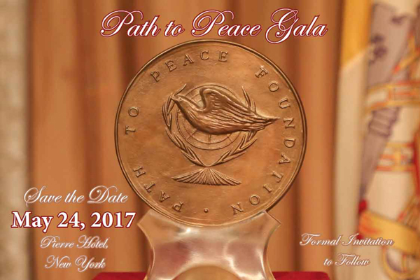 2017 Path to Peace Gala Dinner