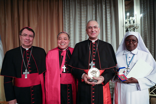 25th Annual Path to Peace Gala spotlights Syria in Honoring Cardinal Zenari