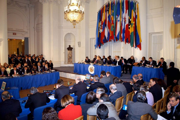 OAS: Human Rights, Democracy and the Rule of Law