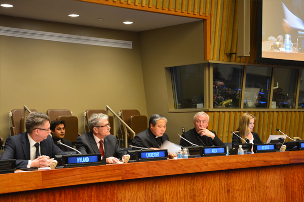 Holy See hosts event on ending human trafficking by 2030