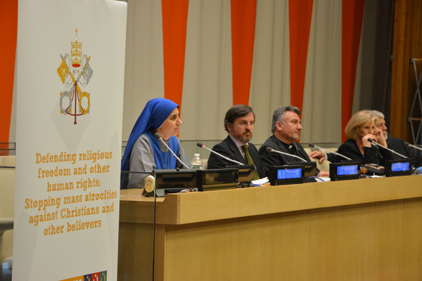 Victims and Experts Unite to Defend Persecuted Christians at Holy See UN Event
